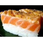 人気のサーモン寿司